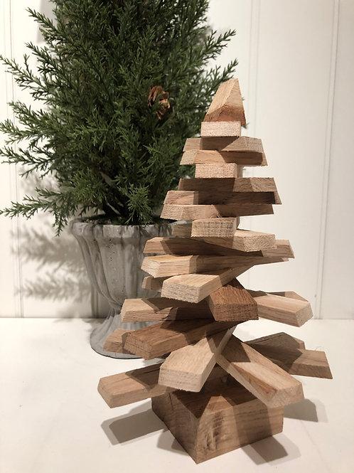 Juletræ i træ