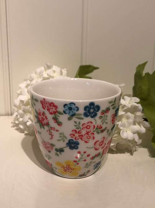 Mini latte sophia white