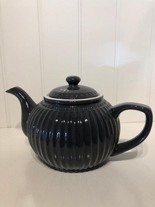 Teapot alice dark grey