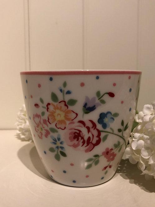 Latte cup belle white