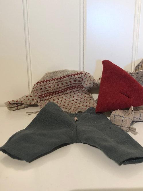 Juletøj str medium til mus dreng
