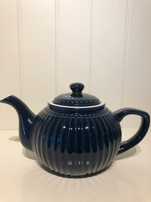 Teapot alice dark blue