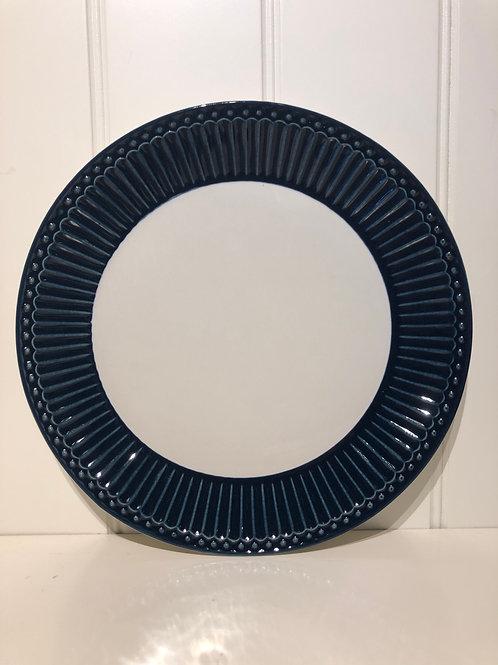 Plate alice dark blue