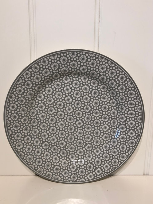 Plate kelly warm grey