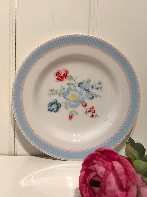Smal plate evie white