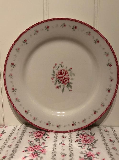 Plate flora wintage
