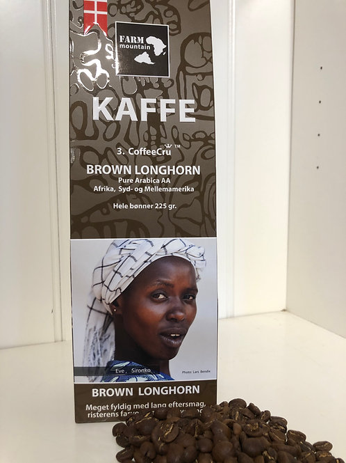 Kaffe brown longhorn