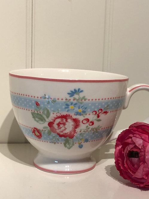 Tea cup evie white