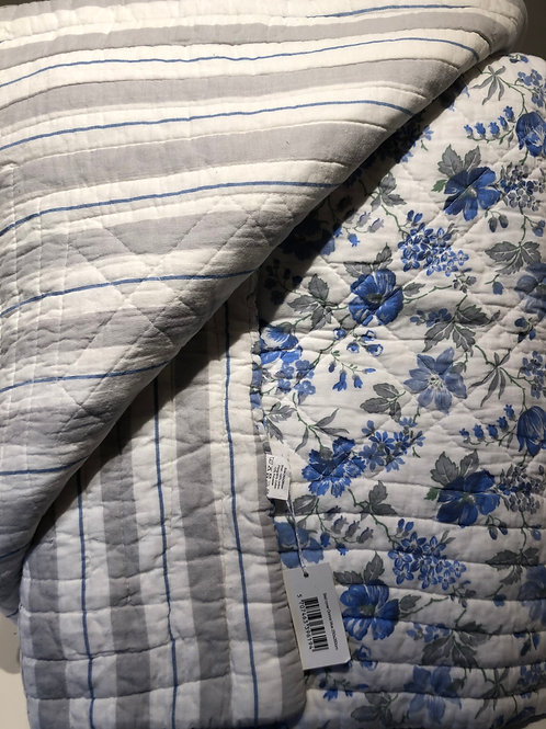 Bed cover donna blue 250 x 260 cm