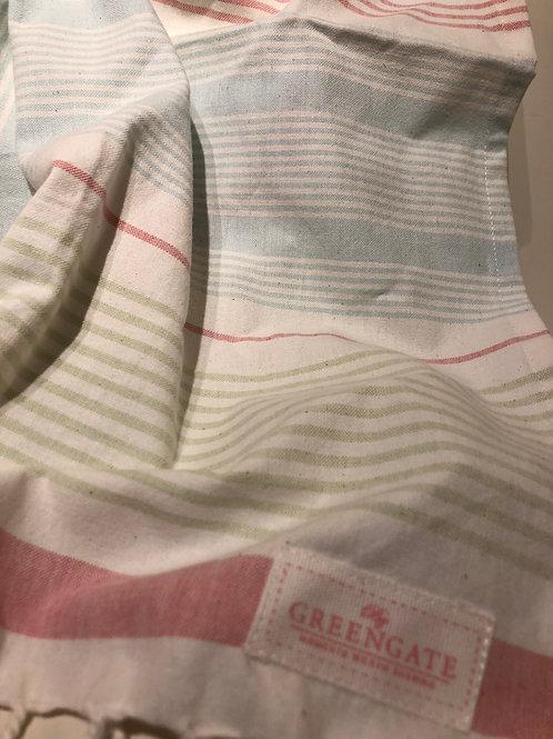 Tea towel summer stripe