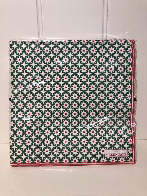 Napkin paper lara green