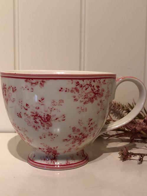 Tea cup abelone raspery