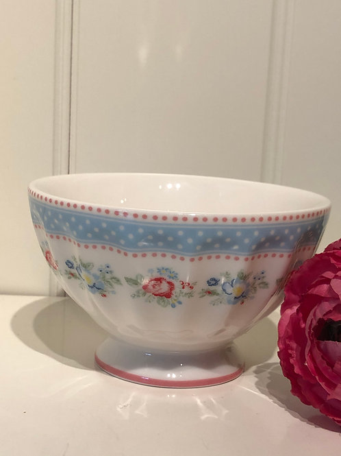 french bowl medium evie white