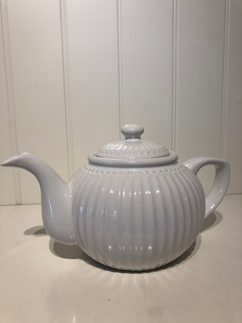 Teapot alice white