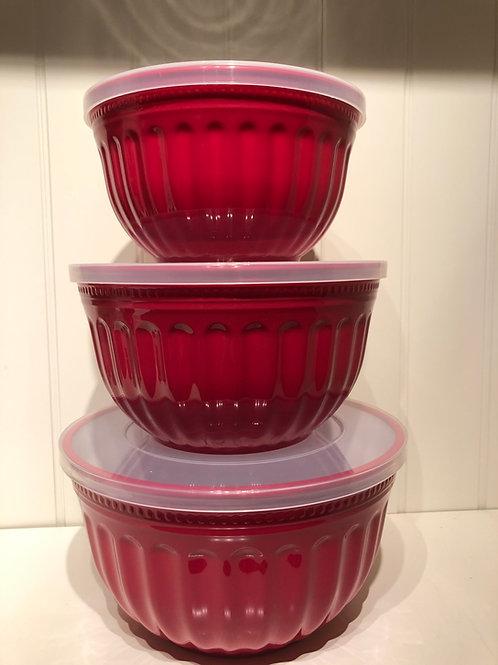 Bowl med låg alice red