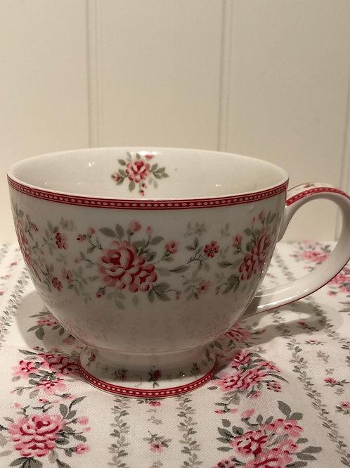 Tea cup flora vintage