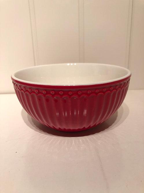Bowl alice red