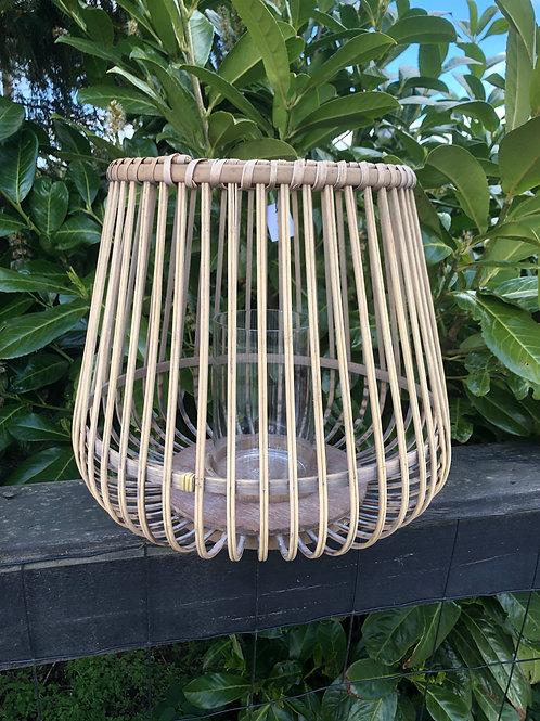 Lanterne bambus stor