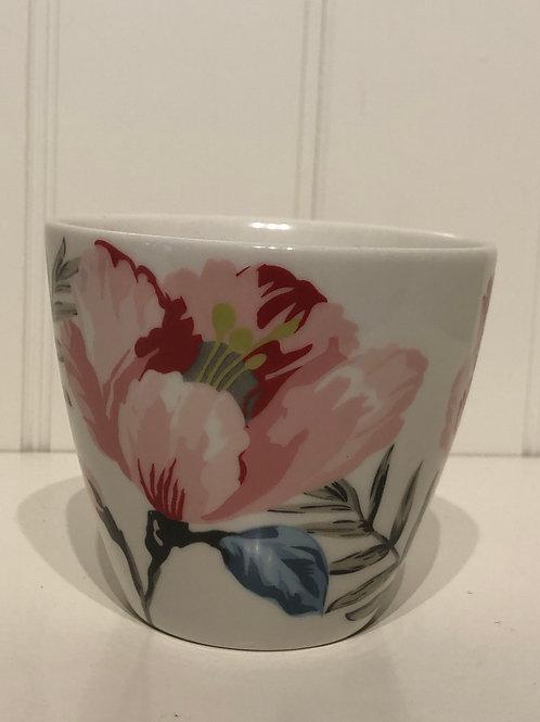 Latte cup magnolia white