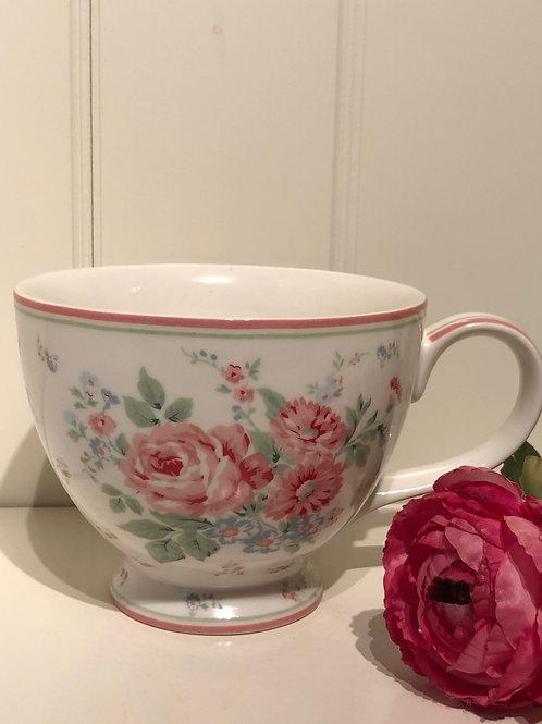 Tea cup marley white