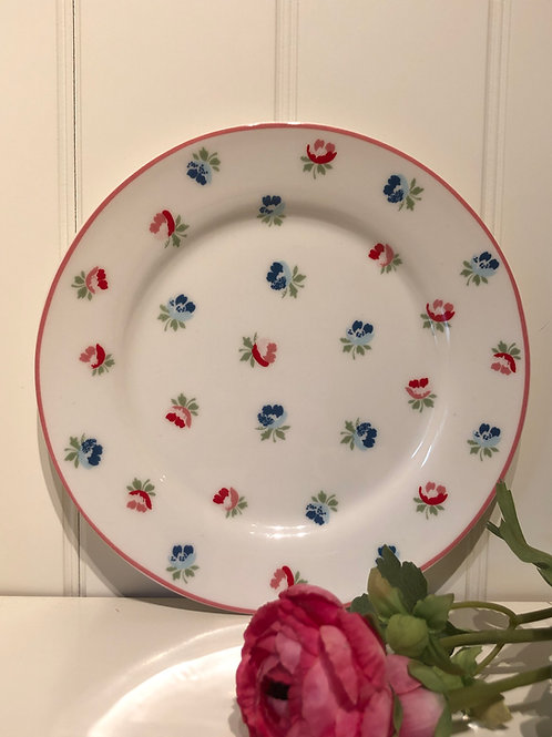 Plate viola white