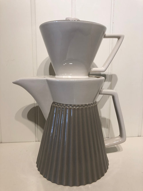 Coffee pot alice warm grey