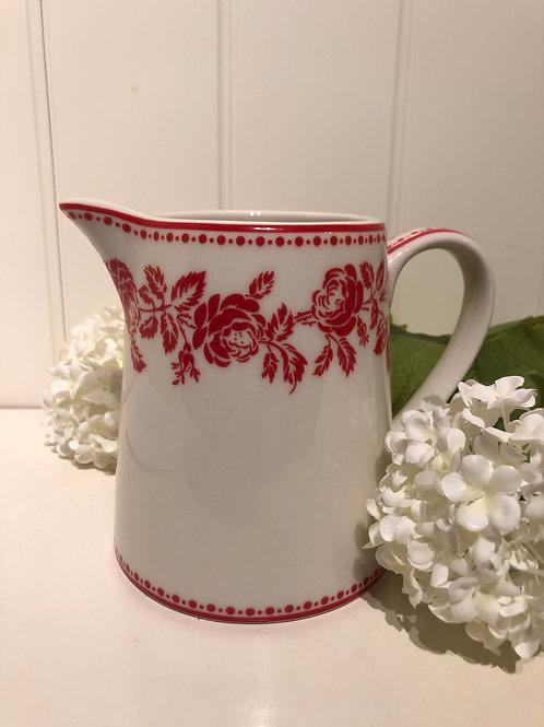 Jug fleur red