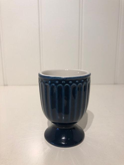 Egg cup alice dark blue