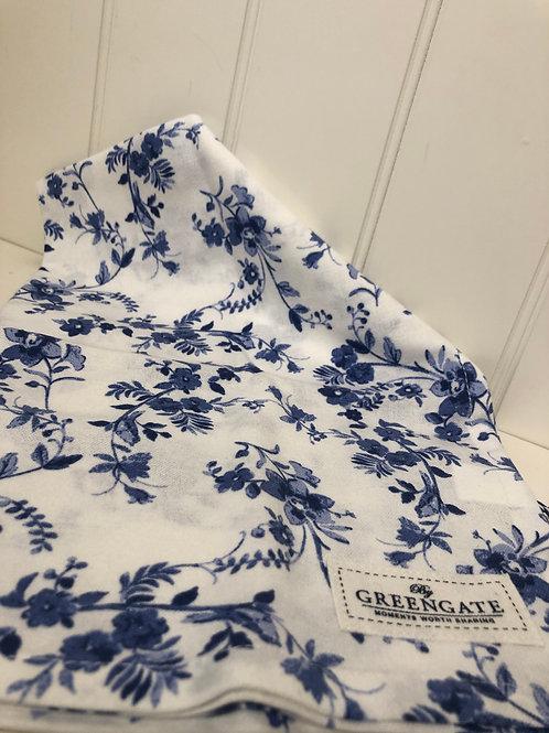 Tea towel vanessa blue