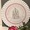 Thumbnail: Coaster round tenna white