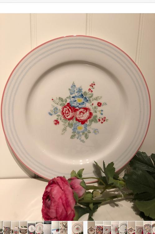 Dinner plate henrietta white