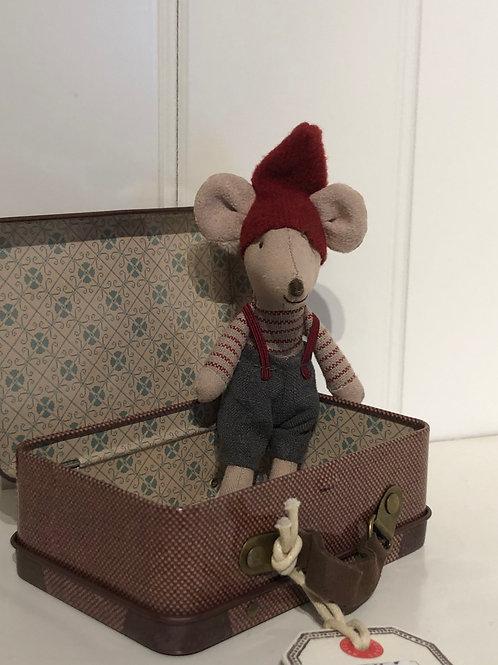 Jule mus i kuffert