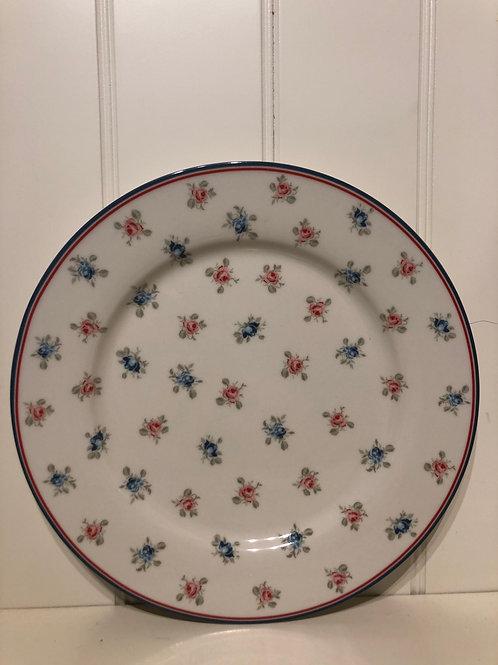 Plate dinner halley white