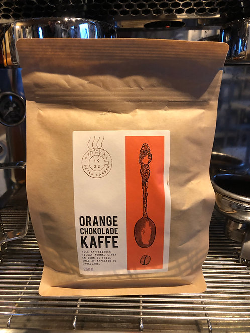 Orange chokolade kaffe