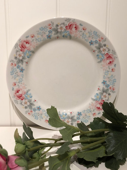 Plate maria pale grey