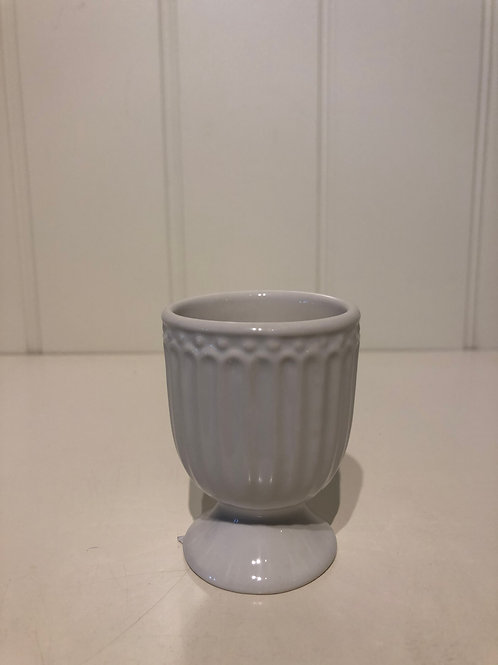 Egg cup alice white