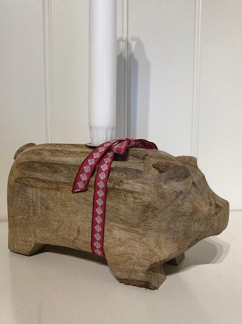 Stor træ gris