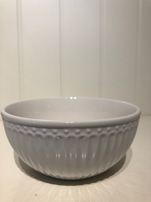 Cereal bowl alice white