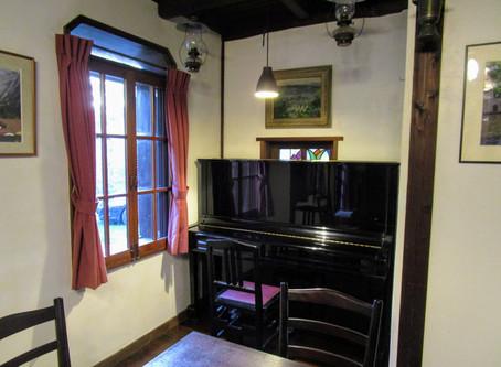 ダイニングルーム ピアノ