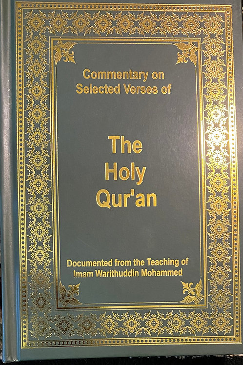 Commentary on Selected Verses of Holy Quran