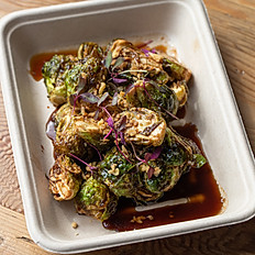 frizzled brussels sprouts