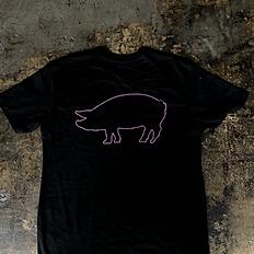 Logo t-shirt Neon Pig Back