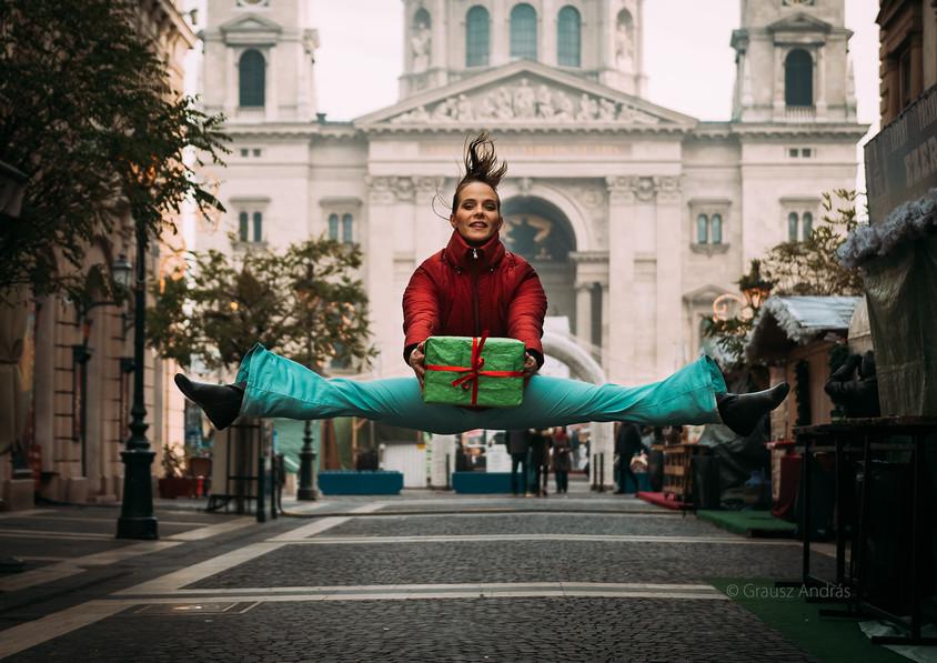 dance photography budapest Christmas