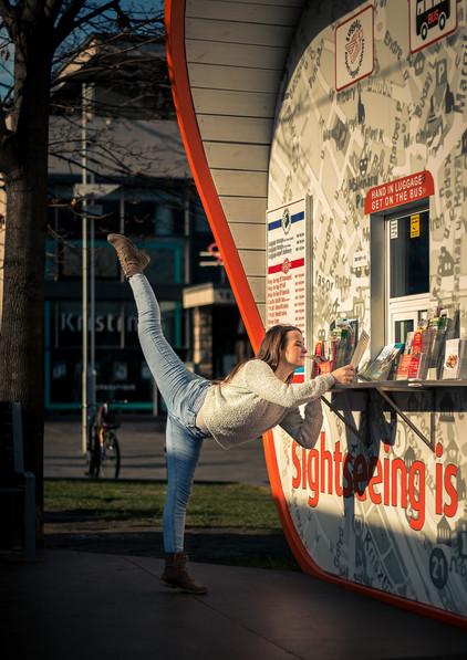 dance photography budapest ballerina