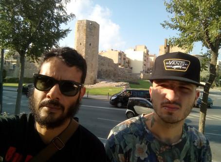 Primo spettacolo spagnolo (Tarragona)