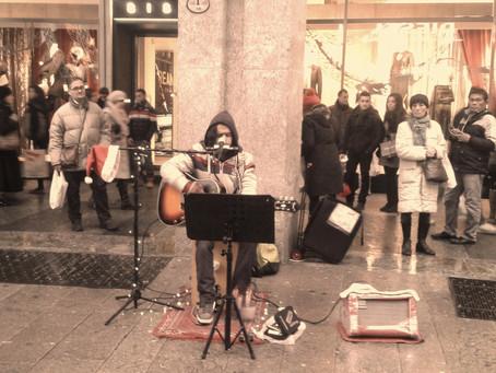 Ballando sotto la pioggia (Milano)