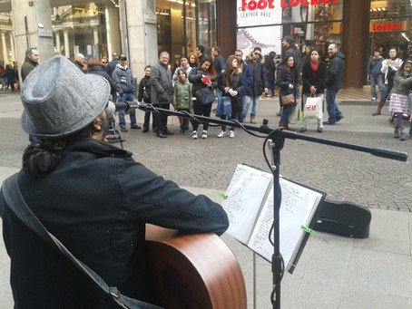 Un mago che canta (Milano)