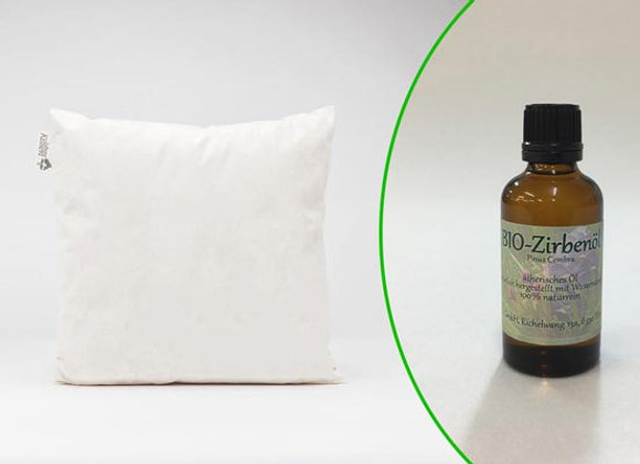 Zirbenkissen mit Bio-Zirbenöl