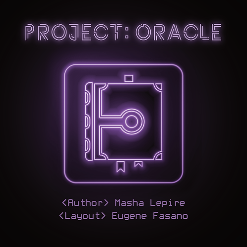 Project: Oracle Tarot Book