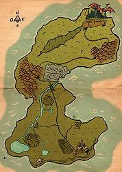 Mapa juego de mesa
